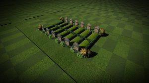 6 Pair Grave [12 graves]